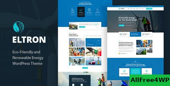 Nulled Eltron v1.2 – Solar Energy WordPress Theme NULLED