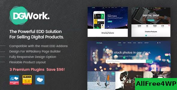 Nulled DGWork v1.8.7.5 – Powerful Responsive Easy Digital Downloads NULLED