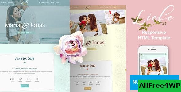 Liebe v1.0 – Responsive HTML Wedding Template