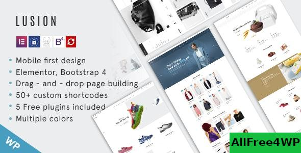 Nulled Lusion v1.0.0 – Multipurpose eCommerce WordPress Theme NULLED