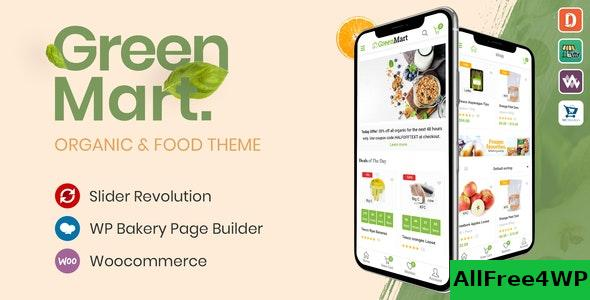 Nulled GreenMart v2.5.0 – Organic & Food WooCommerce WordPress Theme NULLED