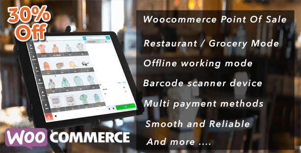 Openpos v4.5.0 - WooCommerce Point Of Sale (POS)