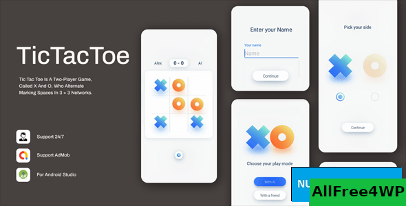 Tic Tac Toe v1.0.3 – Simple & Minimal Game