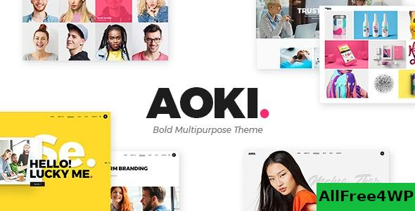 Nulled Aoki v1.6 – Creative Design Agency Theme NULLED