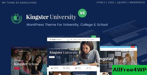 Nulled Kingster v3.0.3 – Education WordPress For University, College and School NULLED