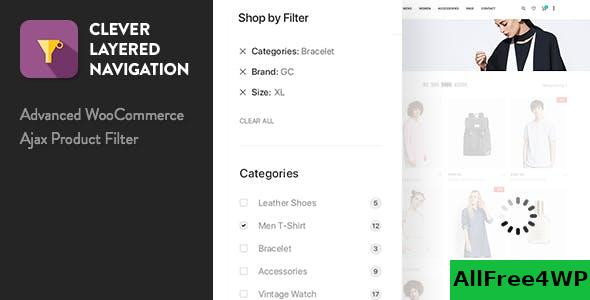 Clever Layered Navigation v1.4.0 - WooCommerce Ajax Product Filter