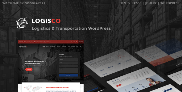 Nulled Logisco v1.0.6 – Logistics & Transportation WordPress NULLED