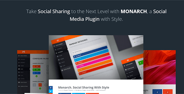 Monarch v1.4.13 - A Better Social Sharing Plugin