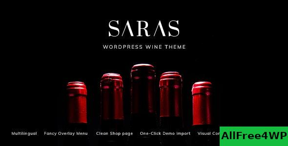 Nulled Saras v1.5 – Wine WordPress Theme NULLED