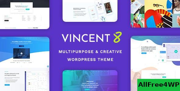 Nulled Vincent Eight v1.8 – Responsive Multipurpose WordPress Theme NULLED