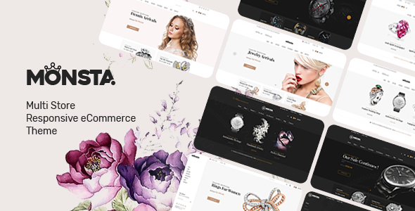 Nulled Monsta v1.0.7 – Jewelry Theme for WooCommerce WordPress NULLED