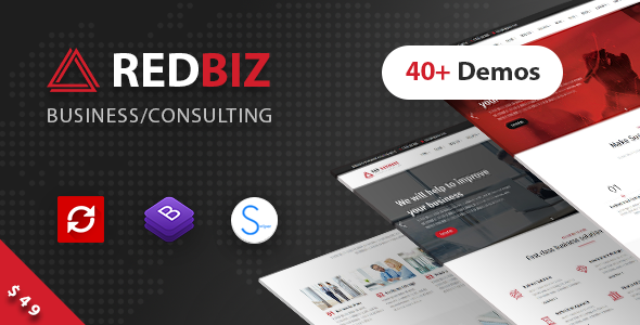 Nulled RedBiz v1.2.1 – Finance & Consulting Multi-Purpose Theme NULLED