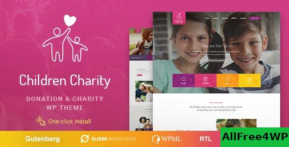 Nulled Children Charity v1.1.1 – Nonprofit & NGO WordPress Theme with Donations NULLED