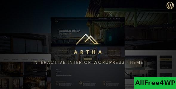 Nulled Artha v2.0 – Interactive Interior WordPress Theme NULLED