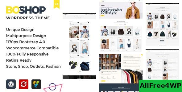 Nulled BoShop v1.0 – Multipurpose eCommerce WordPress Theme NULLED
