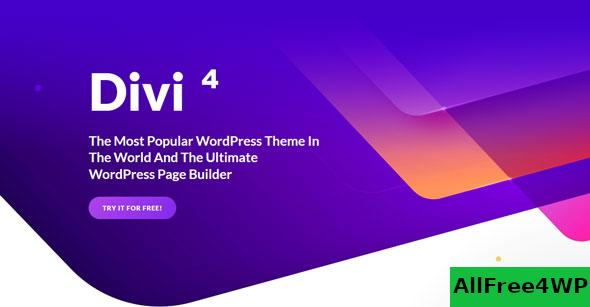 Nulled Divi v4.6.5 – Elegantthemes Premium WordPress Theme NULLED