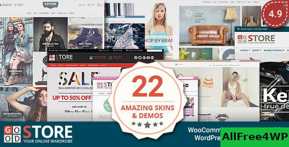 Nulled GoodStore v5.4 – WooCommerce Theme NULLED