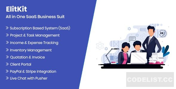 ElitKit v1.6.1 – All In One SaaS Business Suit