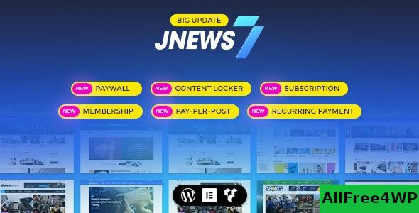 Nulled JNews v7.1.1 – WordPress Newspaper Magazine Blog AMP NULLED