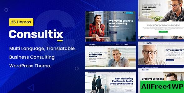 Nulled Consultix v2.1.7 – Business Consulting WordPress Theme NULLED