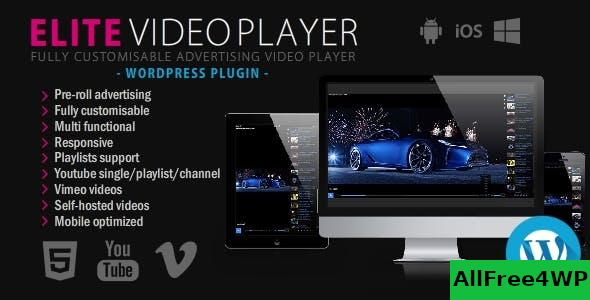 Elite Video Player v6.2 - WordPress plugin