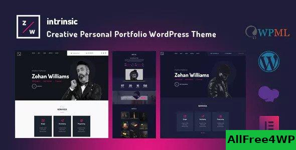 Nulled Intrinsic v1.0.2 – Creative Personal Portfolio Themes NULLED