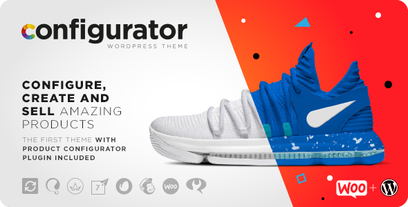 Nulled WP Configurator v1.3.3 – WooCommerce WordPress Theme NULLED