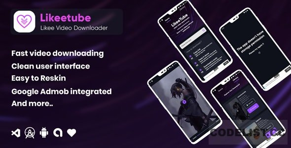 Likeetube v1.0.0 – Likee video downloader no watermark (android)