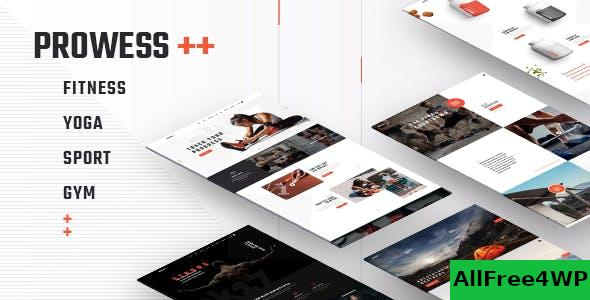 Nulled Prowess v1.8 – Fitness and Gym WordPress Theme NULLED