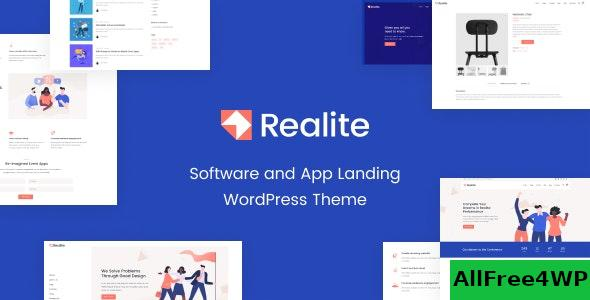Nulled Realite v1.0.0 – A WordPress Theme for Startups NULLED