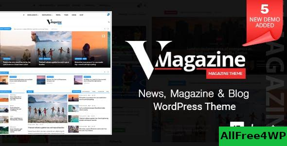 Nulled Vmagazine v1.1.8 – Blog, NewsPaper, Magazine Themes NULLED