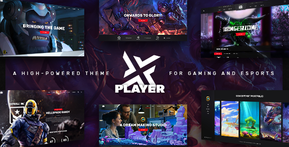 Nulled PlayerX v1.9 – A High-powered Theme for Gaming and eSports NULLED
