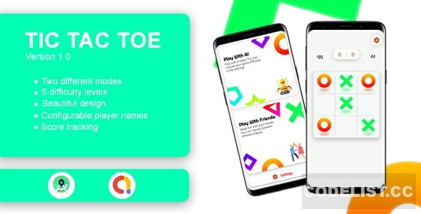 Tic Tac Toe Game with AdMob v1.0