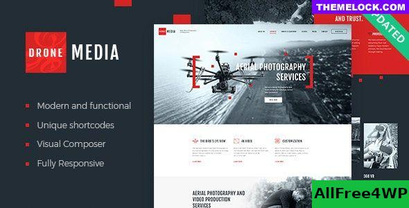 Nulled Drone Media v1.3.4 – Aerial Photography & Videography WordPress Theme + RTL NULLED