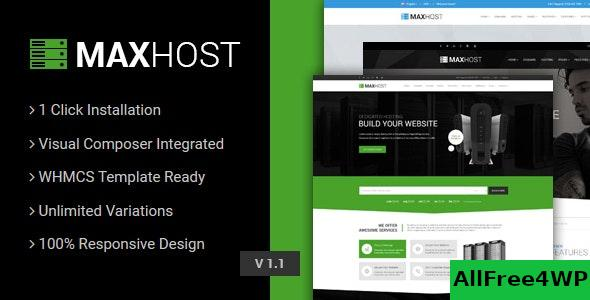 Nulled MaxHost v7.0 – Web Hosting, WHMCS and Corporate Business WordPress Theme with WooCommerce NULLED