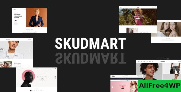 Nulled Skudmart v1.0.9 – Clean, Minimal WooCommerce Theme NULLED