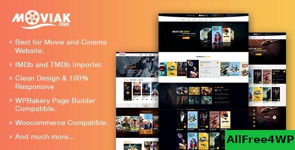 Nulled AmyMovie v3.4.5 – Movie and Cinema WordPress Theme NULLED