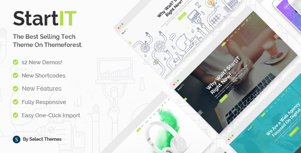 Nulled Startit v4.1.1 – A Fresh Startup Business Theme NULLED