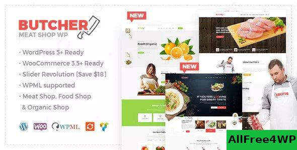 Nulled Butcher v2.21 – Meat, Organic Shop Woocommerce Theme NULLED