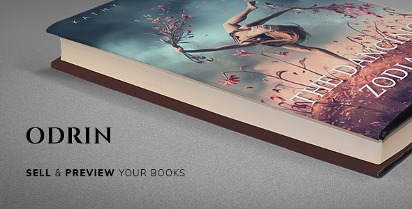 Nulled Odrin v1.3.1 – Book Selling WordPress Theme for Writers NULLED
