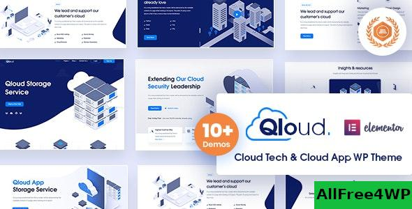 Nulled Qloud v1.6 – Cloud Computing, Apps & Server WordPress Theme NULLED