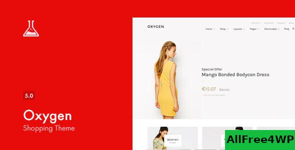Nulled Oxygen v5.6 – WooCommerce WordPress Theme NULLED