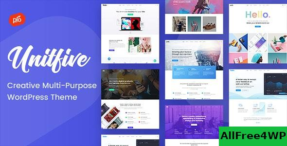 Nulled Unit Five v1.6- Creative Multi-Purpose Theme + RTL NULLED