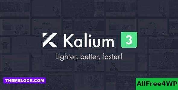 Nulled Kalium v3.0.8 – Creative Theme for Professionals NULLED