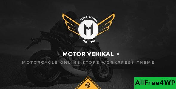 Nulled Motor Vehikal v1.6.5 – Motorcycle Online Store WordPress Theme NULLED