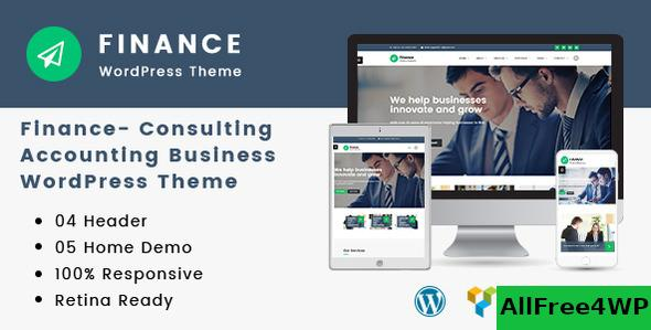 Nulled Finance v1.3.2 – Consulting, Accounting WordPress Theme NULLED