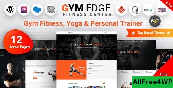 Nulled Gym Edge v4.0 – Gym Fitness WordPress Theme NULLED