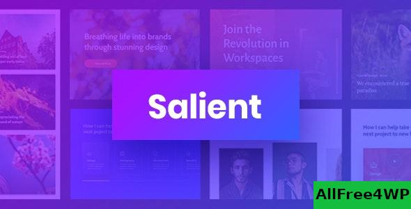 Nulled Salient v12.1.3 – Responsive Multi-Purpose Theme NULLED