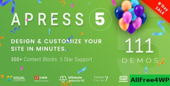 Nulled Apress v5.2.4 – Responsive Multi-Purpose Theme NULLED
