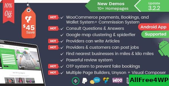 Nulled Listingo v3.2.4 – Service, Business Finder and Directory NULLED